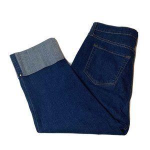 NYDJ Capri Pants Size 14 Cropped Wide Cuff